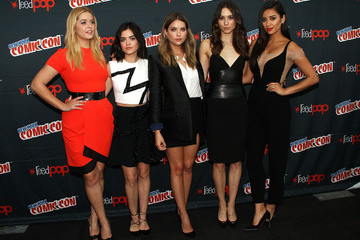Lucy Hale Shay Mitchell New York Comic-Con 2015 - Day 2