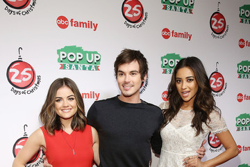 """Lucy Hale Shay Mitchell ABC's """"25 Days Of Christmas"""" Celebration"""