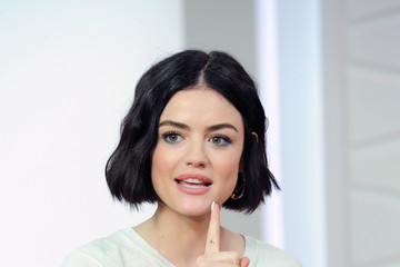Lucy Hale Lucy Hale Appears on Amazon's 'Style Code Live'