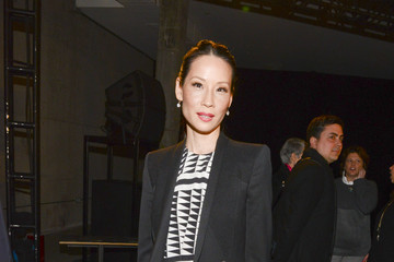 Lucy Liu Front Row at Edun