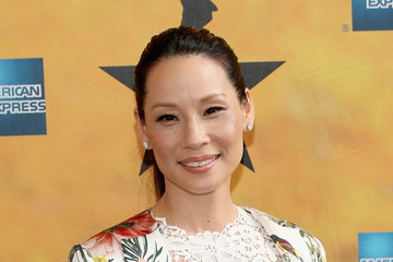 Lucy Liu 'Hamilton' Broadway Opening Night - Arrivals And Curtain Call