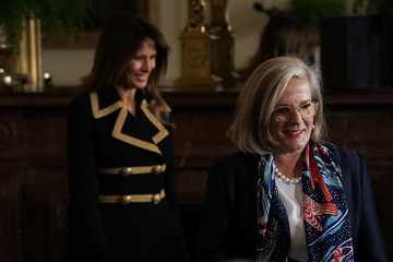 Lucy Turnbull President Trump Holds Joint Press Conference With Australian PM Turnbull