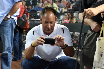 Luis Gonzalez New York Mets v Arizona Diamondbacks