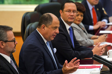 Luis Guillermo Solis Costa Rican President Visits China