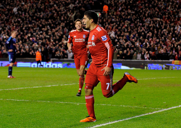 Suarez first Goal