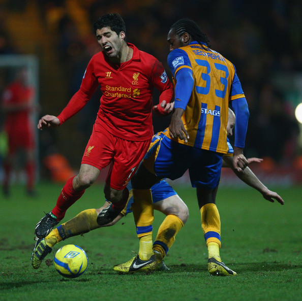 Luis Suarez Not Our C Any More: Mansfield Town V Liverpool