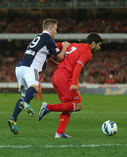 Luis Suarez Not Our C Any More: Melbourne Victory V Liverpool