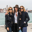 Luisa Loro Piana CAMEO By Lizworks Launch Event At Harry' s Dolci During The 58th Venice Biennale