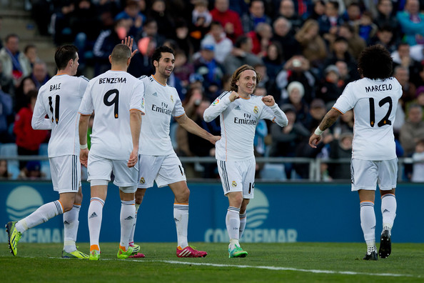 Real Madrid Vs Getafe Cf