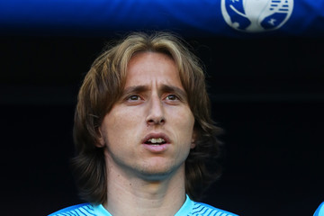 Luka Modric Croatia v Spain - Group D: UEFA Euro 2016