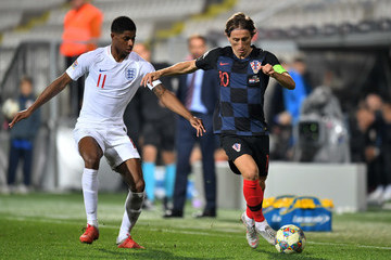 Luka Modric Croatia vs. England - UEFA Nations League A