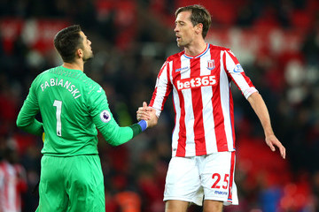 Lukasz Fabianski Stoke City v Swansea City - Premier League