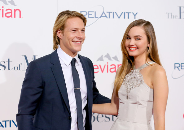 luke bracey pictures the best of me premieres in la