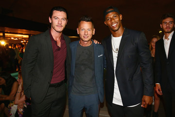 Luke Evans GQ Celebrates The Spring 2015 Milan Collection