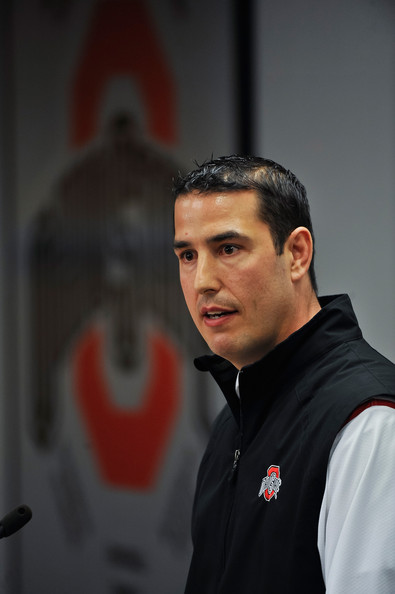 Luke Fickell Pictures - Ohio State Spring Football Preview ...