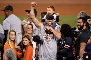 Luke Gregerson World Series - Houston Astros v Los Angeles Dodgers - Game Seven