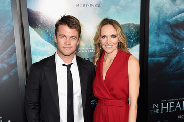 Luke Hemsworth 'In the Heart of the Sea' New York Premiere - Red Carpet