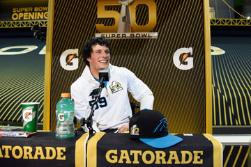 Luke Kuechly Super Bowl Opening Night Fueled by Gatorade