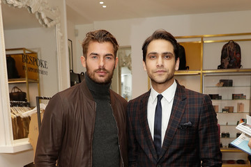 Luke Pasqualino Paul Smith and The Gentleman's Journal Bespoke Event