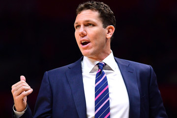 Luke Walton Los Angeles Lakers v Los Angeles Clippers