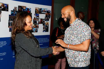 Luna Lauren Velez Annual Charity Day Hosted By Cantor Fitzgerald, BGC and GFI - Cantor Fitzgerald Office - Arrivals