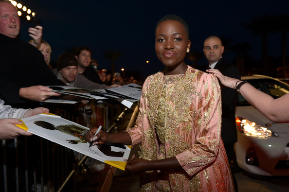 Lupita Nyong'o - 25th Annual Palm Springs International Film Festival Awards Gala - Red Carpet