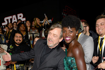 Lupita Nyong'o Premiere of Disney Pictures and Lucasfilm's 'Star Wars: The Last Jedi' - Red Carpet