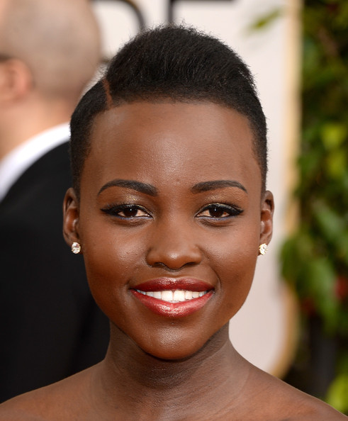 Lupita Nyong'o - 71st Annual Golden Globe Awards - Arrivals
