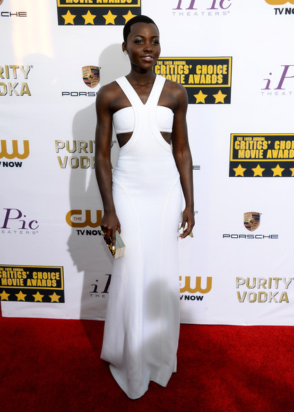 Lupita Nyong'o - Arrivals at the Critics' Choice Awards — Part 2