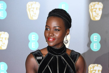Lupita Nyong'o EE British Academy Film Awards - Red Carpet Arrivals