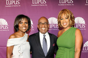 News Correspondent Deborah Roberts, Weather Anchor Al Roker and Gayle King attend the Lupus Foundation of America New York City Butterfly Gala at The Pierre Hotel on October 11, 2011 in New York City.