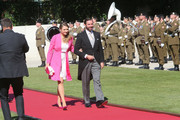 Prince Guillaume of Luxembourg and Princess Stephanie of Luxembourg celebrate National Day at the Theatre on June 23, 2014 in Luxembourg, Luxembourg.