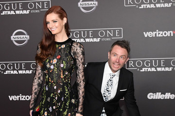 Lydia Hearst Chris Hardwick Premiere of Walt Disney Pictures and Lucasfilm's 'Rogue One: A Star Wars Story' - Arrivals