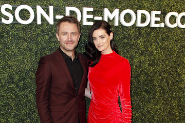 Lydia Hearst Chris Hardwick MAISON-DE-MODE Celebrates Sustainable Style By Honoring Suzy Amis Cameron Of Red Carpet Green Dress - Arrivals