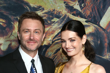 Lydia Hearst Chris Hardwick 'The Walking Dead' Premiere And Party