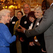 Lynda LaPlante Queen Elizabeth II Hosts a Reception