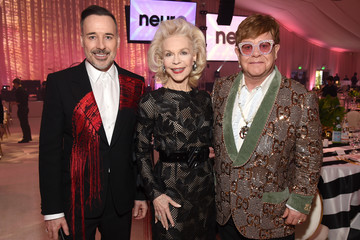 Lynn Wyatt 27th Annual Elton John AIDS Foundation Academy Awards Viewing Party Sponsored By IMDb And Neuro Drinks Celebrating EJAF And The 91st Academy Awards - Inside