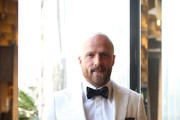 Nathan Jones of the Demons wears M.J. Bale for the 2018 Brownlow Medal at Crown Entertainment Complex on September 24, 2018 in Melbourne, Australia.