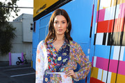 Ashley Greene attends M Missoni F/W20 presentation at Pink's Hot Dogs on February 04, 2020 in Los Angeles, California.