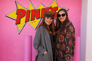 Nina Senicar (L) and Jennifer Missoni attend M Missoni F/W20 presentation at Pink's Hot Dogs on February 04, 2020 in Los Angeles, California.