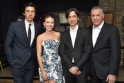 Adam Driver, Scarlett Johansson, Noah Baumbach and Ray Liotta attend the 'MARRIAGE STORY' Special Presentation and Canadian Premiere at the Elgin and Winter Garden Theatre on September 08, 2019 in Toronto, Canada.