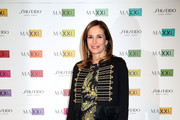 Cristina Parodi attends a photocall for the MAXXI Acquisition Gala Dinner 2016 at Maxxi Museum on November 7, 2016 in Rome, Italy.