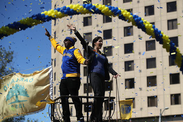 MC Hammer Golden State Warriors Victory Parade and Rally