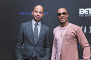 BET President Scott Mills and T.I. attend META - Convened by BET Networks at The Edition Hotel on February 20, 2020 in Los Angeles, California.