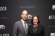 BET President Scott Mills and Senator Kamala Harris attend META - Convened by BET Networks at The Edition Hotel on February 20, 2020 in Los Angeles, California.