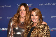 Kelly Bensimon (L) and Jill Zarin attend DailyMail.com Holiday Party 2015 on December 10, 2015 in New York City.