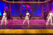 In this screengrab released on November 08, Jade Thirlwall, Leigh-Anne Pinnock and Perrie Edwards of Little Mix perform at the MTV EMA's 2020 on November 01, 2020 in London, England. The MTV EMA's aired on November 08, 2020.