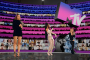 In this screengrab released on November 08, Hosts Jade Thirlwall, Leigh-Anne Pinnock and Perrie Edwards of Little Mix presenting at the MTV EMA's 2020 on November 01, 2020 in London, England. The MTV EMA's aired on November 08, 2020.