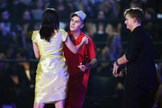 Justin Bieber and Charli XCX Photos Photo