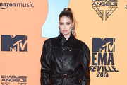 Doutzen Kroes attends the MTV EMAs 2019 at FIBES Conference and Exhibition Centre on November 03, 2019 in Seville, Spain.